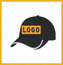 100 cotton 5 panels baseball cap with Embroidered or print logo