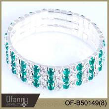 Factory direct sale colorful rhinestone bracelet