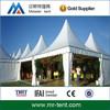 White pavilion tent pagoda tent 6x6