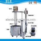 High speed liquid emulsifying mixer machine