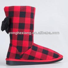 2015 fasion design colour winter snow boot