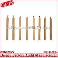 Disney factory audit manufacturer's natural wood carpenter pencil 143516