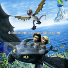 Animation 4D Cinema Film , 5D Thriller Motion Movie , 6D Horror Movies