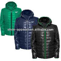 2015 quilted jacket with fleece winter jacket,padded jacket