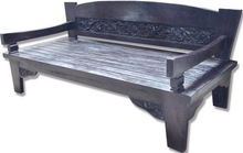 ANTIQUE and RECYCLED TIMBER BENCHES and DAY BEDS