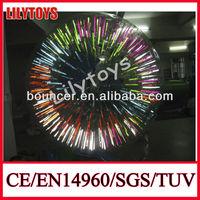 LED Bouncing Glitter Crystal Water Ball glitter bouncing water ball