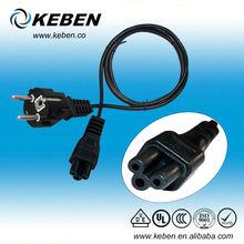 AC power cord plug with high quality of korea electrical plugs