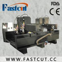 factory price coated metals shell bone jade 20 25 30 square rail orbit 5 axis cnc machine