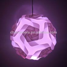 2014 new design iq lamp shade puzzle lamp jigsaw lamp infinity lights
