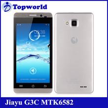 "JIAYU G3C 4.5"" 720P 1.3GHz quad core dual sim 3G Andriod high quality smart phone"