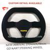 Manufacturer Factory Exporter for Suede OEM Go Kart Steering Wheel for Sale