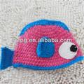 2014 engraçado crochet chapéus para crianças