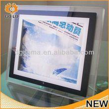 custom hanging digital photo frame,baseball photo frame,digital photo frame/weather station
