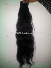 indian manufacture 100% human weave virgin peruvian hair