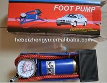 cheap foot pump/ bike tire pump