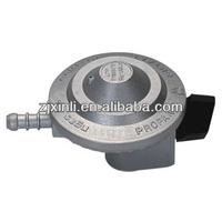 High Quality LPG Gas Cylinder Regulator, Zinc Alloy Gas Valve with Child Lock Switch