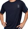 Men's 100% polyester dry fit sport shirt