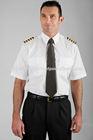white color airline pilot uniforms shirt