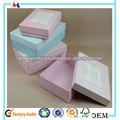 compact embalagem caixa de papel grosso