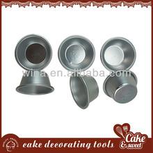 FDA & LFGB Metal baking mold muffin cake cups