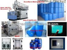 blow molding machine/blue plastic barrel drums manufacturer