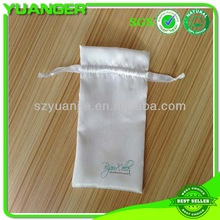 Small drawstring Gift Packing high quality drawstring satin pouch manufactory & export
