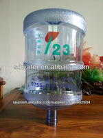 New PC material 5 gallon water bottles for mineral water