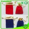 shenzhen china Recycled velvet backpack drawstring bags