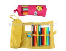 Art marker set ( pencil case wrap )