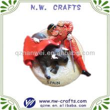 Spanish bullfighting custom fashion fridge magnets