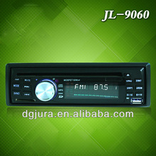 In dash car audio dvd player with fm transmitter and usb