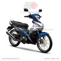 Spark 135 i spoke wheel motor street scooter made in Thailand