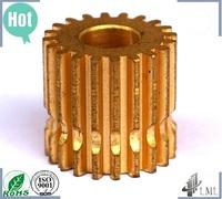 brass watch gears