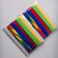 髪のための敵虹リボンタイの髪バンド