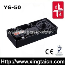 Stability floor spring door closer hydraulic glass hingeYG-50