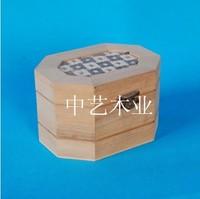 Eco-friendly custom handmade small decorative wooden chest