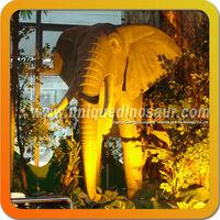 Simulation Elephant Statues Polyresin Animal Life Size