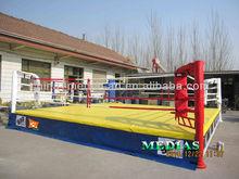 Custom floor boxing ring