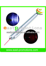3-in-1 with laser and led stylus ball points pen