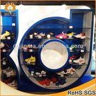 oem design high heel shoe ring display wholesale,potato chip display rack,acrylic shoes stand display