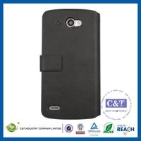 C&T leather Wallet folio Flip for lenovo s920 case pouch
