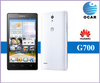 Huawei G700 dual SIM mobile phone 5 inch IPS screen Quad Core MTK6589 1.2GHz 2GB Ram Android phone