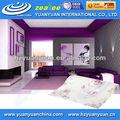 2013 de nuevo y caliente en el interior del hogar papel pintado no- tejido de flor de mariposa de papel de pared