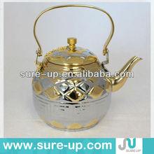 antique tea pot with filter
