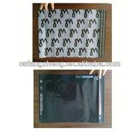 2014 Hot Sale cd&book plastic covers/ adhesive bag