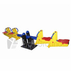 See Saw Spring Rider:4 People Spring Rider Seesaw - Rabbit