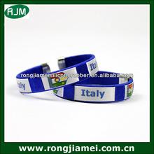 2014 Brasil world cup football team bracelet thin blue line bracelet