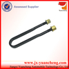 stainless steel hollow bolt and nut