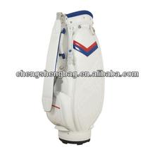 customize Pu leather lady golf cart bag