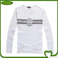 Screen printing men's round neck cotton t shirts